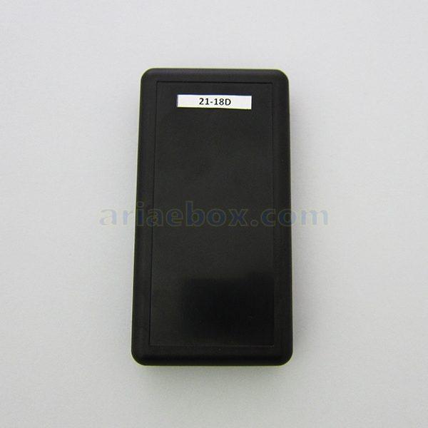 نمای سه بعدی باکس دستی پلاستیکی با محفظه باتری 21-18D Black