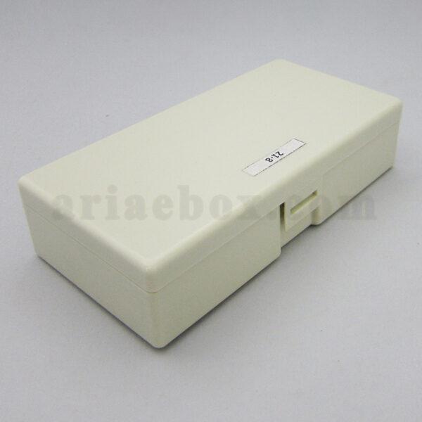 نمای سه بعدی باکس پلاستیکی دستی الکترونیکی 21-8