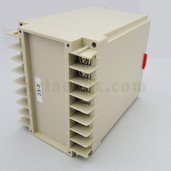 نمای سه بعدی باکس الکترونیکی 16 کاناله ریلی 23-2
