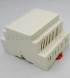 تصویر سه بعدی باکس ریلی ماژولار شیاردار ABR105-A11