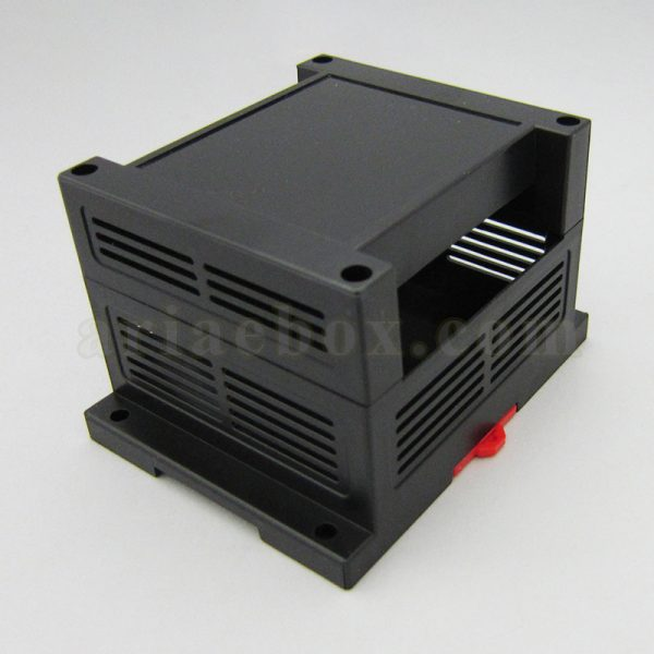 نمای سه بعدی باکس پلاستیکی الکترونیکی PLC ریلی ABR103-A22
