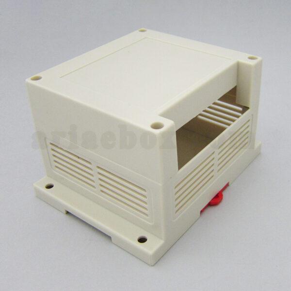 نمای سه بعدی باکس الکترونیکی PLC ریلی تک ترمینال ABR103-A1