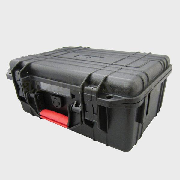 نمای سه بعدی کیف ابزار ضدآب/ضد ضربه پلاستیکی 45-5