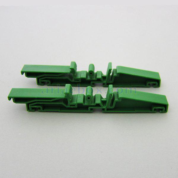 نمای سه بعدی براکت ریلی کوچک نصب برد DRG03-G