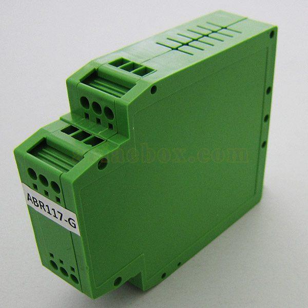 نمای سه بعدی باکس توزیع الکترونیکی ریلی عمودی ABR117-G