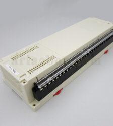 نمای سه بعدی باکس پلاستیکی کنترل PLC ریلی abr121-a1