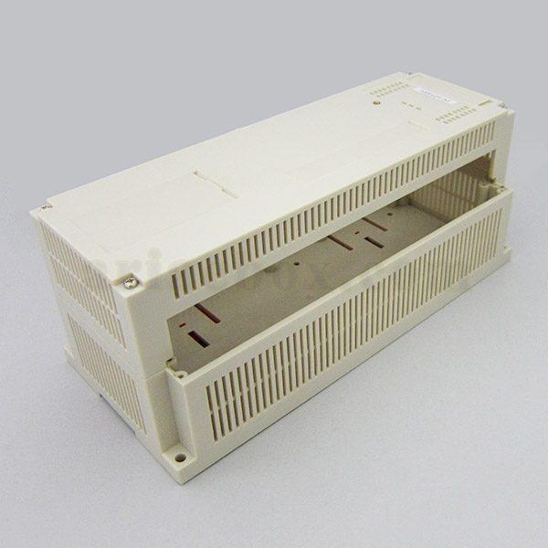 نمای سه بعدی باکس پلاستیکی تجهیزات PLC ریلی ABR124-A1