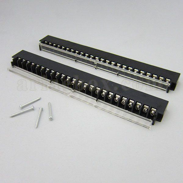 ترمینال ریلی ولتاژ بالا 24 پین مدل Terminal 24 pin