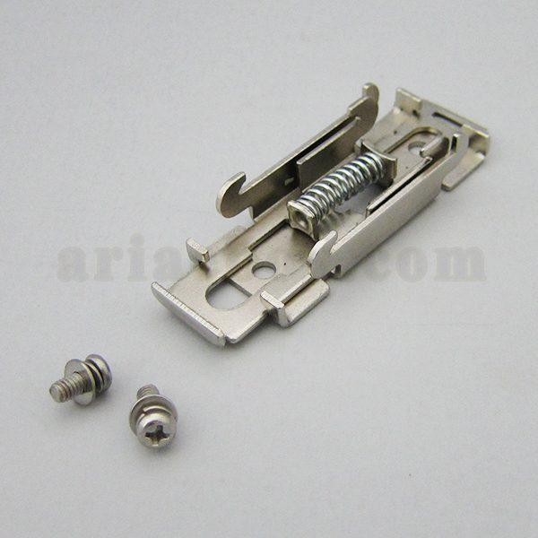 نمای سه بعدی براکت الکترونیکی فلزی ریلی MH-02