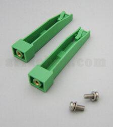 نمای سه بعدی براکت ریلی پلاستیکی نصب برد PGR01-G