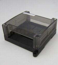 نمای سه بعدی باکس ریلی کنترل صنعتی شفاف ABR119-A2T