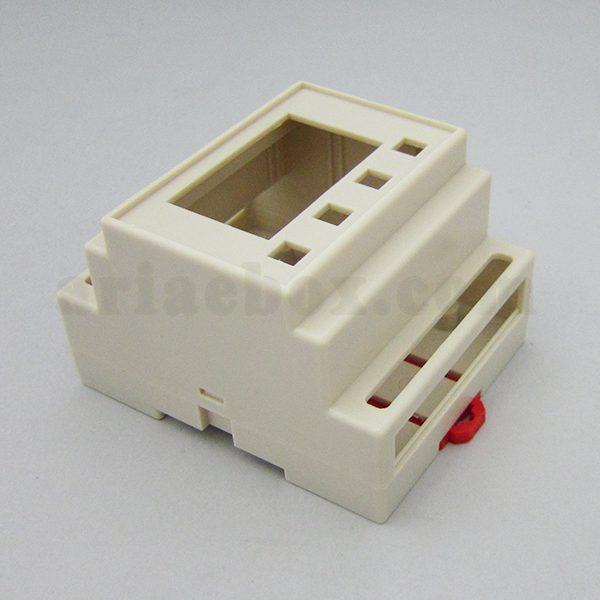 نمای سه بعدی باکس ریلی ماژولار فرستنده دما ABR107-A1