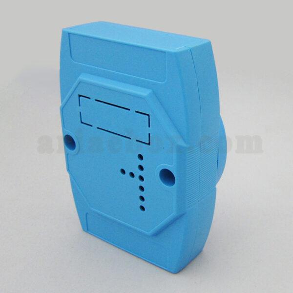 نمای سه بعدی باکس کنترل ماژولار ریلی آبی ABR117-B