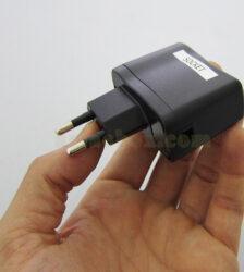 نمای سه بعدی سوکت شارژر موبایل socket m