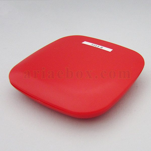 نمای سه بعدی جعبه پلاستیکی فرستنده مادون قرمز هوشمند s911-r