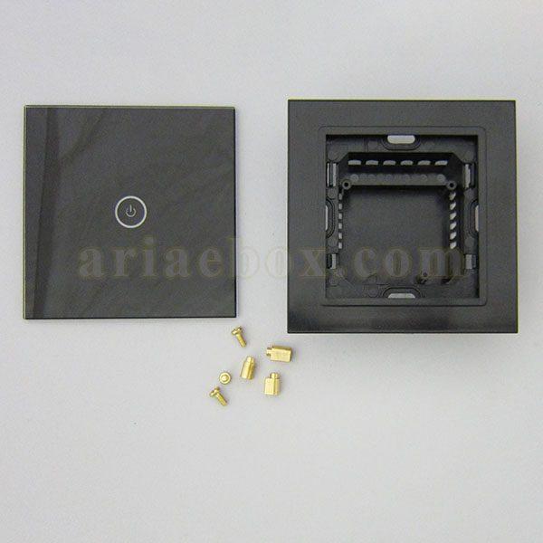 نمای روبرو کلید لمسی S904-A2P1