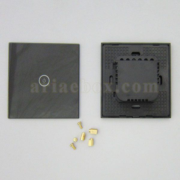 نمای پشت کلید لمسی S904-A2P1