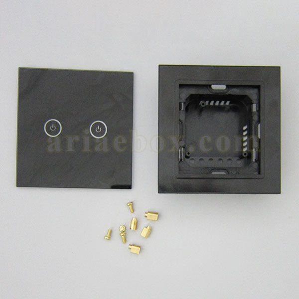 تصویر روبرو کلید لمسی S904-A2P2