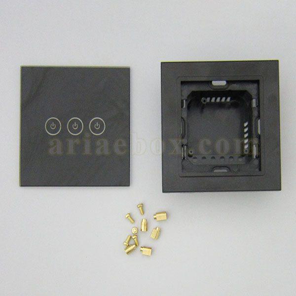 نمای روبرو کلید لمسی S904-A2P3