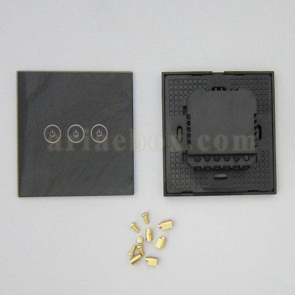 نمای پشت کلید لمسی S904-A2P3