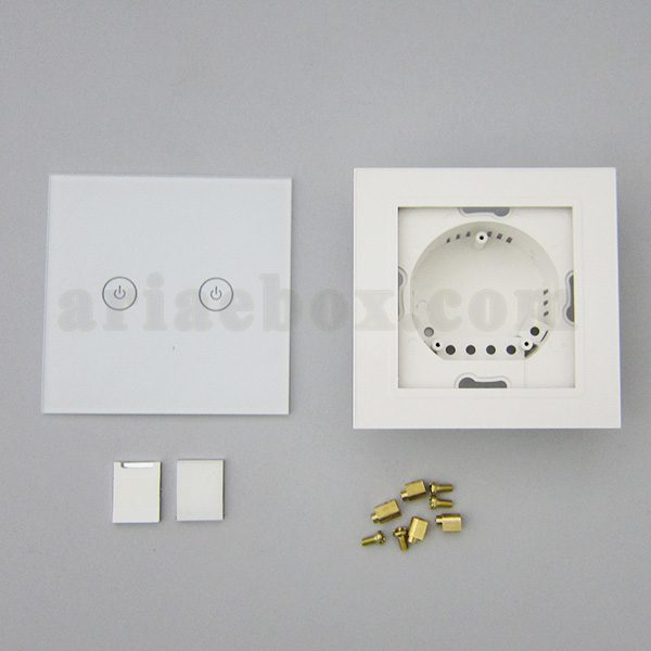 تصویر نمای روبروی کلید لمسی S908-A1P2