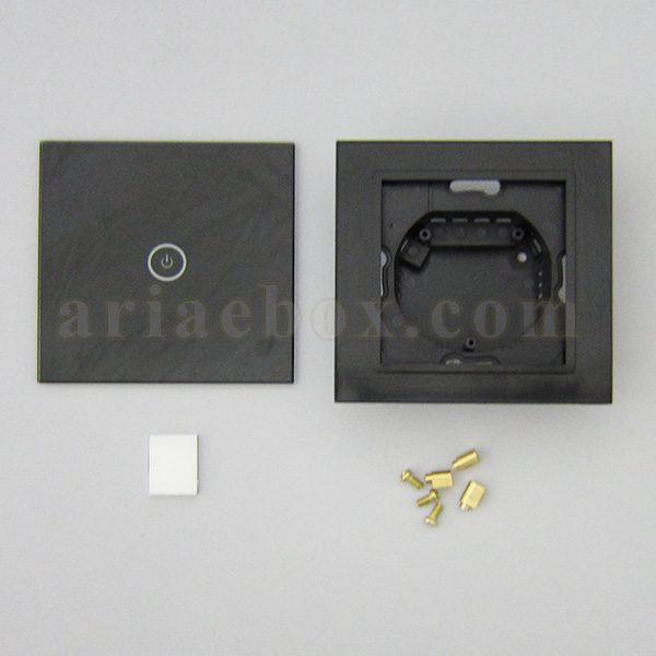تصویر نمای روبرو کلید لمسی S908-A2P1