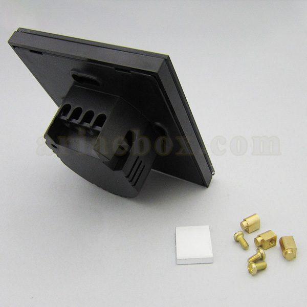 تصویر سه بعدی نمای پشت کلید لمسی S908-A2P1