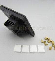 تصویر سه بعدی نمای پشت کلید لمسی S908-A2P4