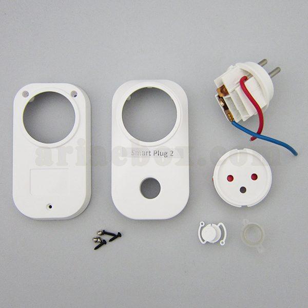 نمای بیرونی سوکت تایمر وای فای خانه هوشمند Smart Plug 2