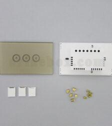 تصویر نمای پشت کلید لمسی S903-GP3