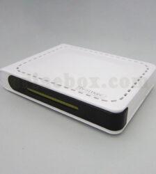 نمای سه بعدی جعبه پلاستیکی مخابراتی مودم شبکه ABN116-A1