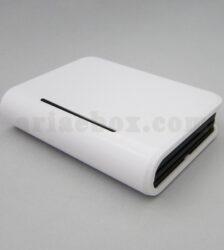تصویر نمای سه یعدی جعبه پلاستیکی بیسیم روتر تجهیزات شبکه ABN103-A1