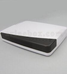 تصویر نمای سه بعدی باکس روتر / مودم شبکه ABN112-A1