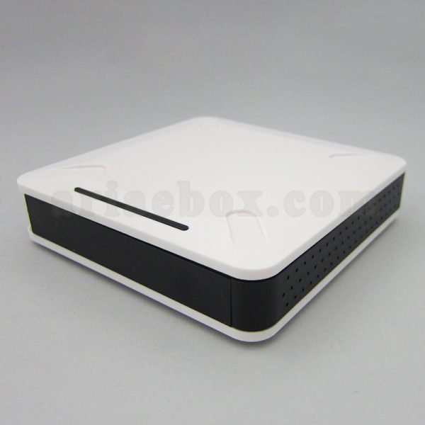 نمای سه بعدی جعبه پلاستیکی مودم تجهیزات شبکه ABN106A1