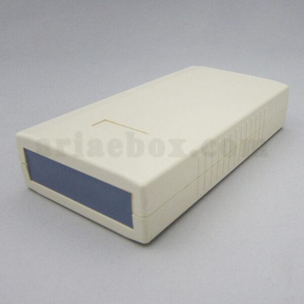 نمای سه بعدی باکس پلاستیکی الکترونیکی دستی/رومیزی ABD121-A1