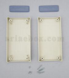 نمای باز باکس پلاستیکی الکترونیکی دستی/رومیزی ABD121-A1