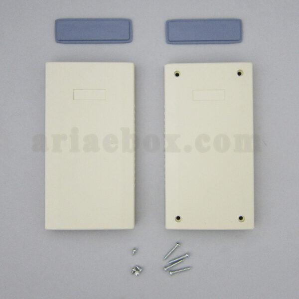 نمای بسته باکس پلاستیکی الکترونیکی دستی/رومیزی ABD121-A1