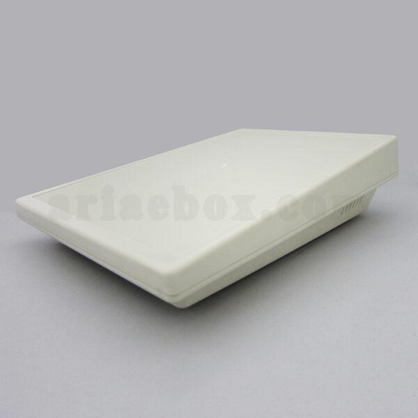 نمای سه بعدی باکس الکترونیکی شیبدار پلاستیکی رومیزی 15-37