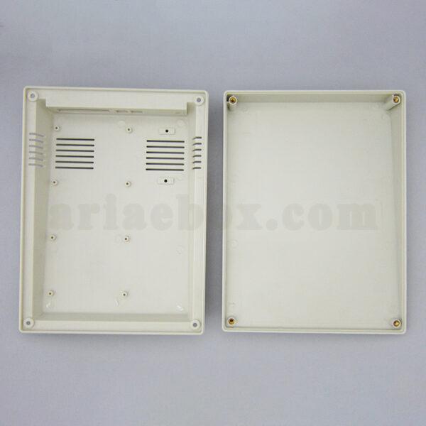 نمای باز باکس الکترونیکی شیبدار پلاستیکی رومیزی 15-37