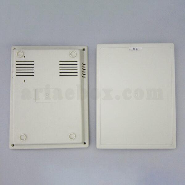 نمای بیرونی باکس الکترونیکی شیبدار پلاستیکی رومیزی 15-37