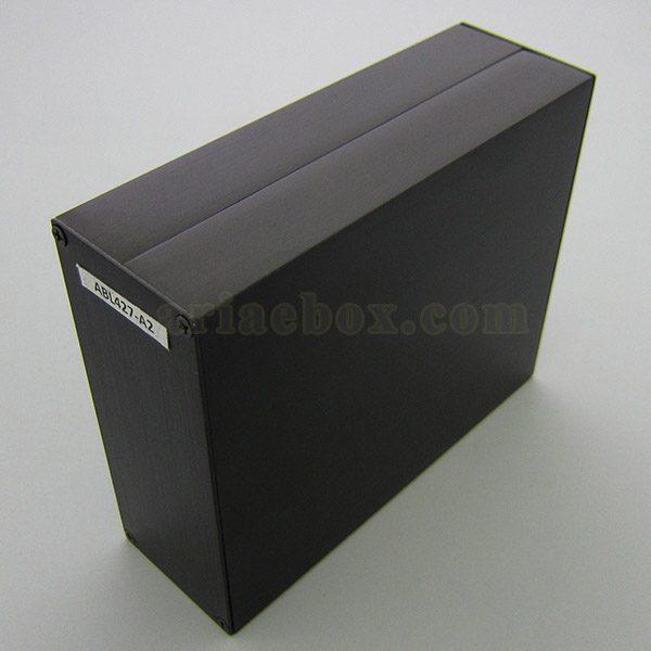 جعبه اکسترود آلومینیومی الکترونیکی abl427-a2