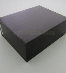 نمای سه بعدی جعبه اکسترود آلومینیومی الکترونیکی abl427-a2