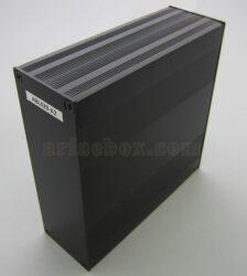 نمای سه بعدی جعبه اکسترود آلومینیومی کنترلر ABL429-A2