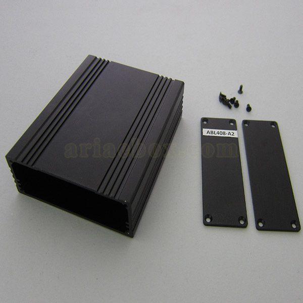 نمای باز جعبه الکترونیکی اکسترود آلومینیومی ABL408-A2