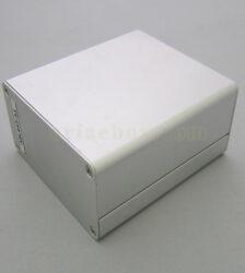 نمای سه بعدی جعبه آلومینیومی ابزار الکترونیکی abl443-a1