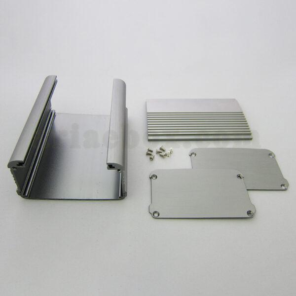 نمای داخلی جعبه آلومینیومی شاسی تقویت کننده ABL413-A1/L120