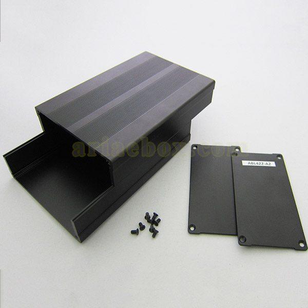 نمای باز جعبه آلومینیومی نصب PCB مدل جعبه آلومینیومی نصب PCB مدل ABL422-A2