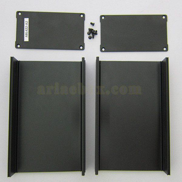 نمای داخلی جعبه آلومینیومی نصب PCB مدل جعبه آلومینیومی نصب PCB مدل ABL422-A2