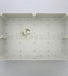 نمای داخلی جعبه رومیزی ضدآب منبع تغذیه ABW220-A1