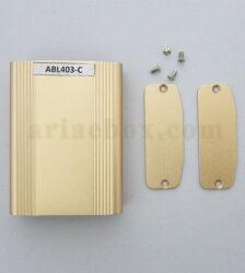 نمای باز جعبه آلومینیومی تجهیزات کنترل صنعتی بژ ABL403-C